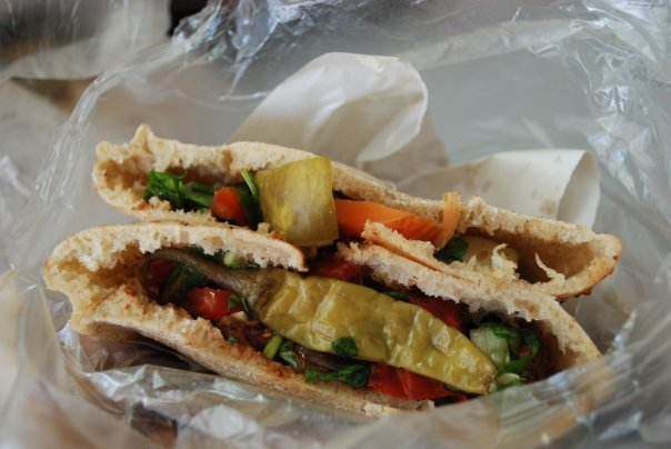 Friday Food Photos – the Falafel
