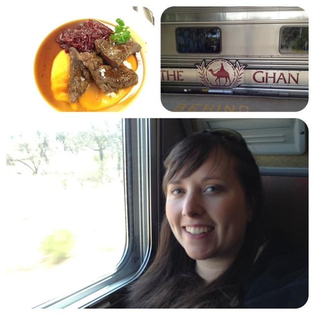 Enjoying the Ghan and exploring the Northern Territory