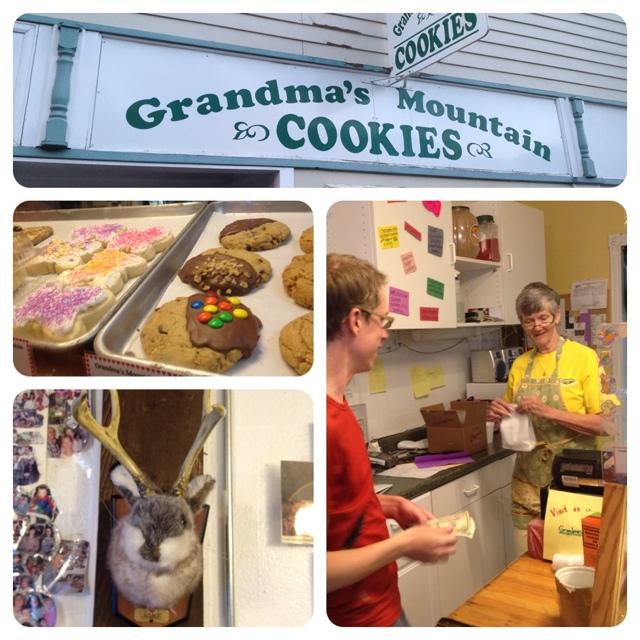 #FridayFoodPhoto - Grandma's Mountain Cookies!