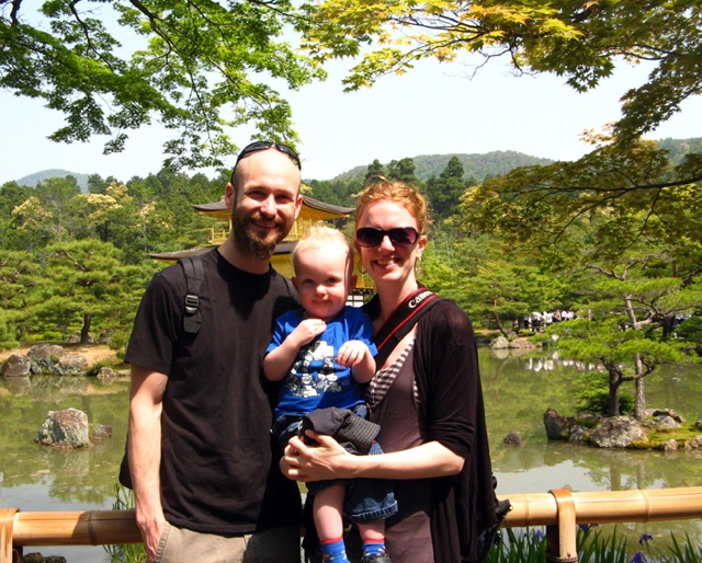 The Means Family in Kyoto- May 2011