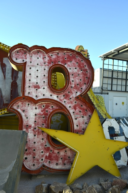 neon museum sign SMALL
