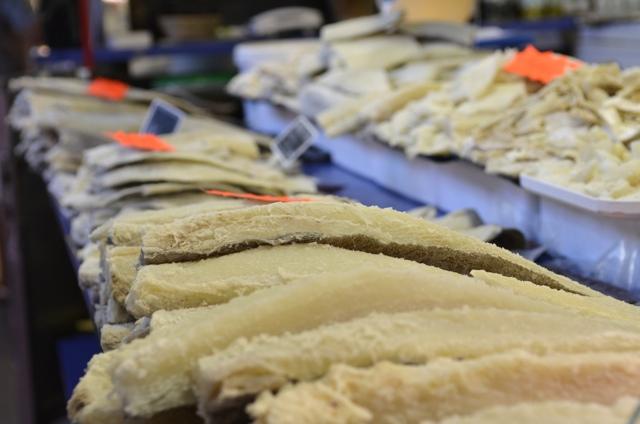 dried fish girona market