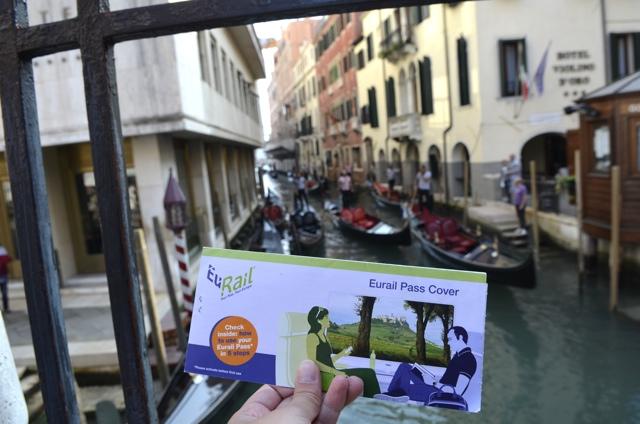 Eurail Pass Venice, Italy