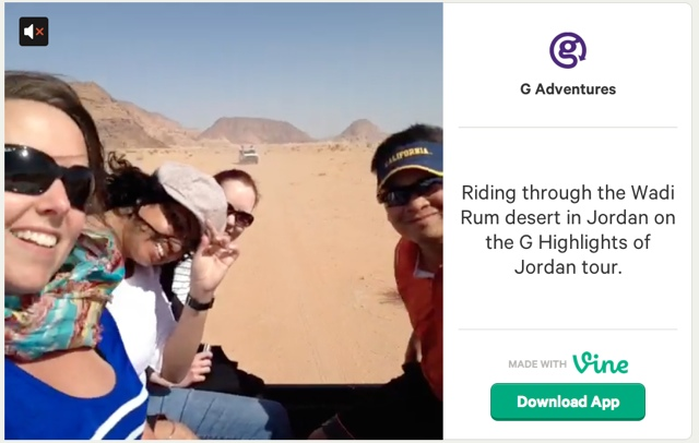 gadventures vine screenshot