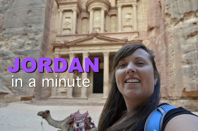 Jordan in a Minute #Video