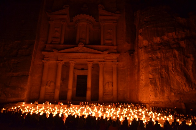 petra at night 1