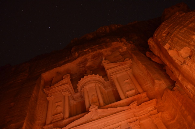 petra at night 3