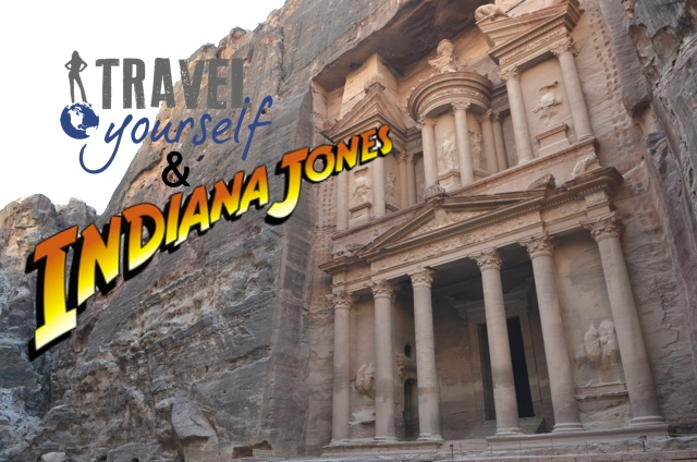 Indiana Jones returns to Petra