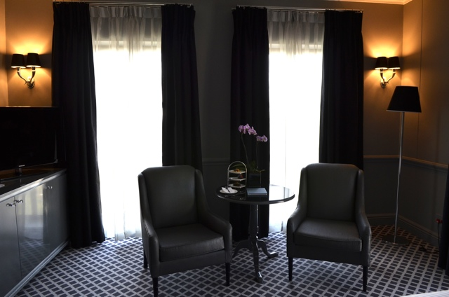Sitting area in a suite - 54 on bath Hotel Johannesburg, South Africa