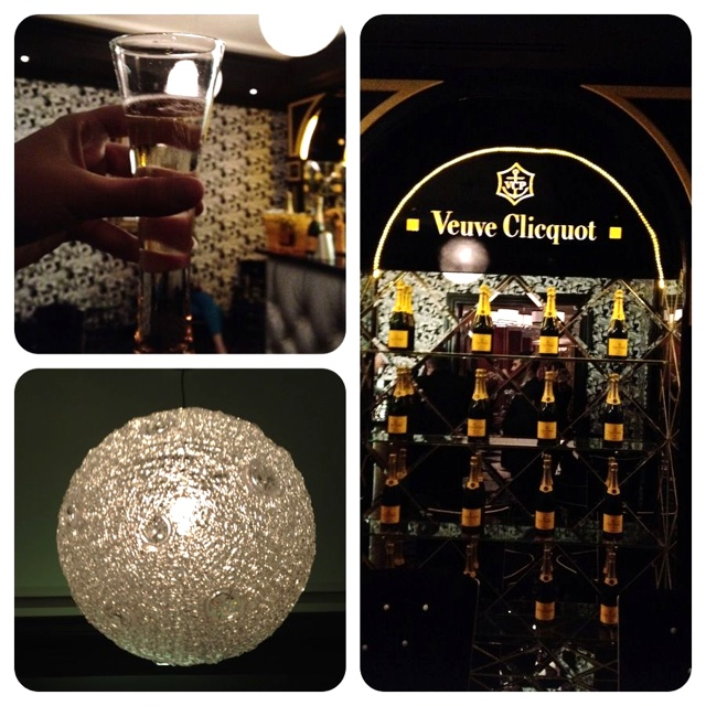 Veuve Clicquot Champagne bar at 54 On Bath Hotel Johannesburg, South Africa