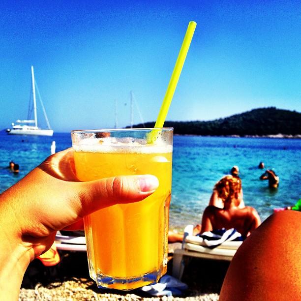 East West Beach Club in Dubrovnik, Croatia