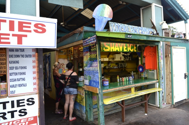Local Boys Shave Ice in Kihei