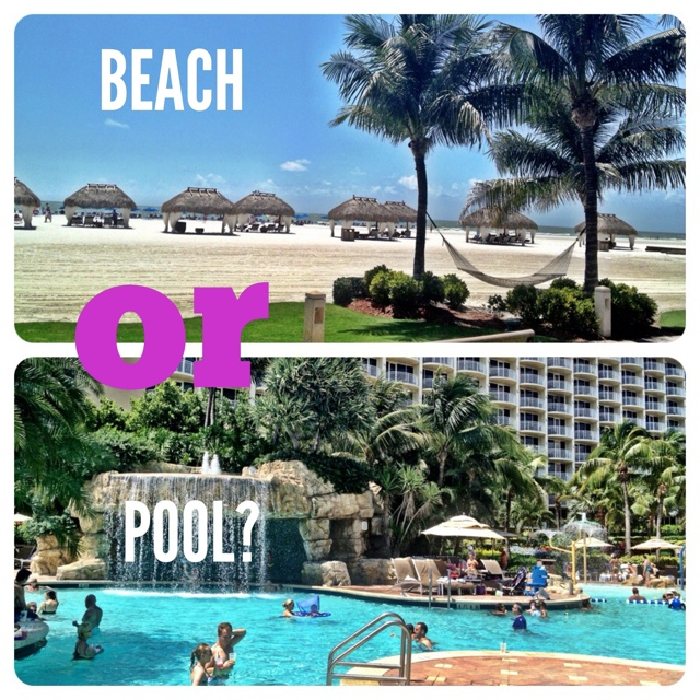 Marco Island Marriott Beach or Pool