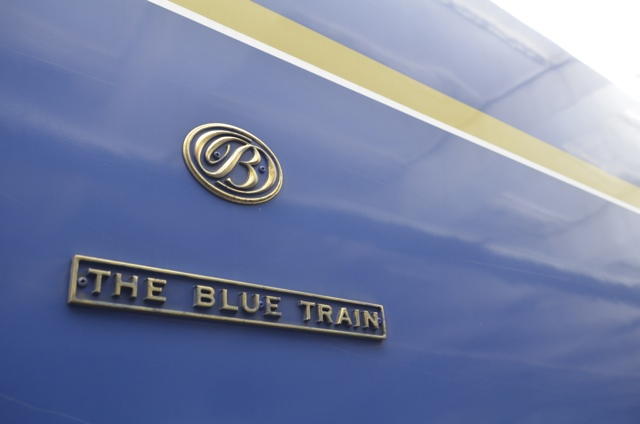 The Blue Train logo South Africa
