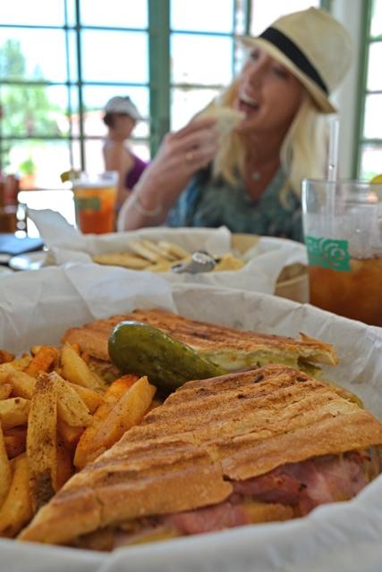 A Cuban sandwich at Alfresco's