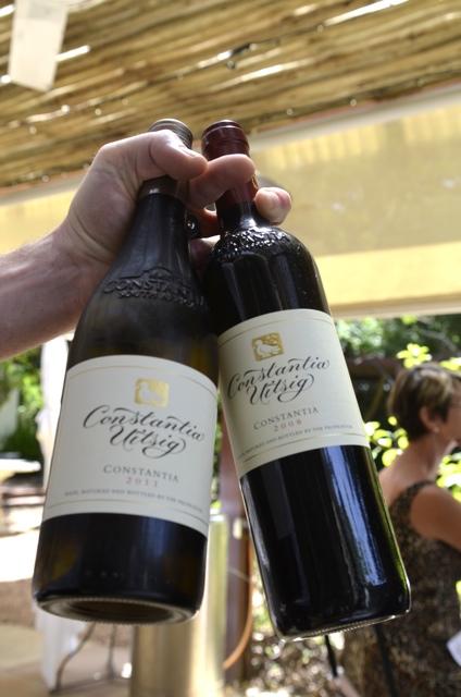 La Colombe's very own wine.