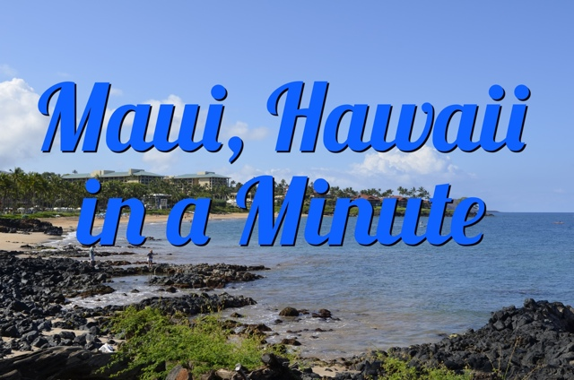 Visiting Maui, Hawaii in a Minute