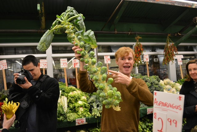 Foods of New York Tour Guide Curt teaches us about brussels sprouts
