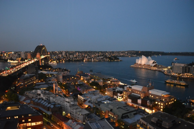 Sydney from the Shangri-la