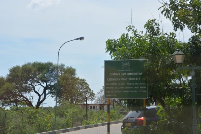 Kazungula border