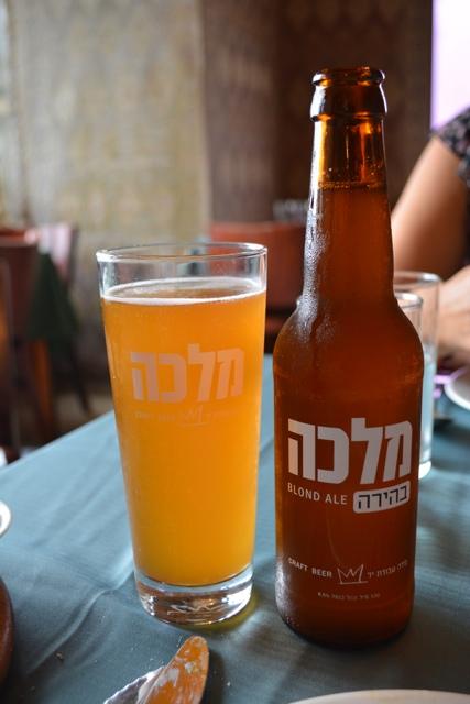 Uri Jeremias Buri Israel craft beer blonde ale Malka Beer