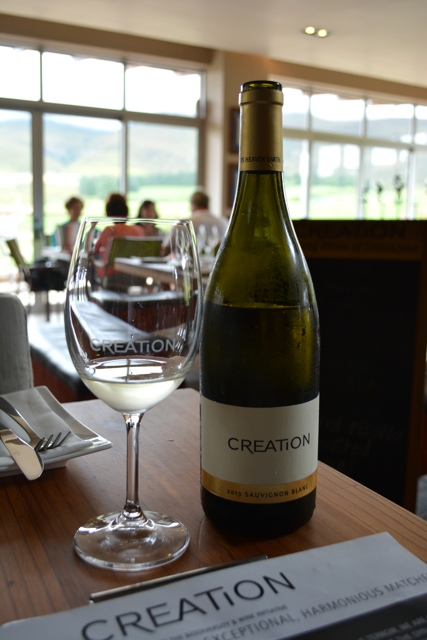 creation wines sauvignon blanc - Tasting Creation Wines in South Africa