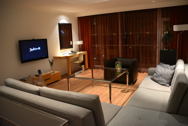 the radisson blu hotel in Cape Town, South Africa suite