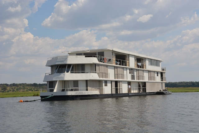The Zambezi Queen Houseboat - Staying Aboard the Zambezi Queen