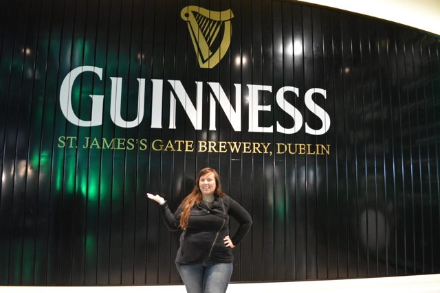 cailin in the guinness storehouse in dubiln - dublin in a minute