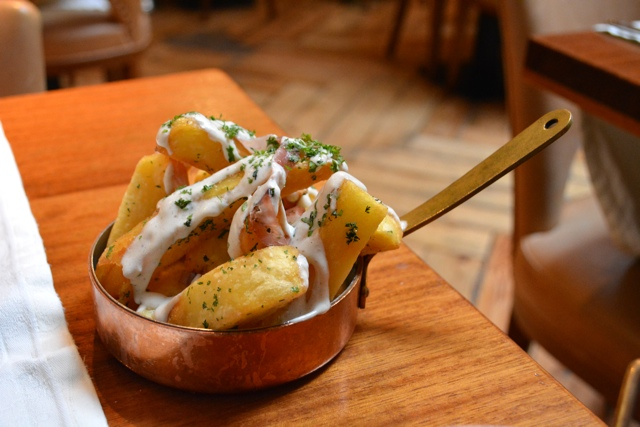 fade street social chunky chips truffle - Homegrown Local Food in Dublin