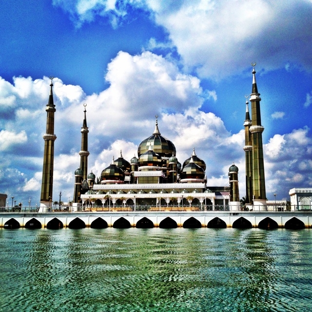 the crystal mosque in terengganu malaysia  - Malaysia As Seen Through Instagram Photos