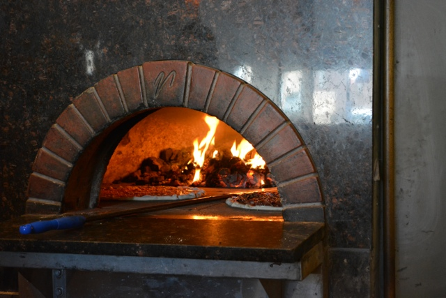 coal fire pizza oven - Chicago Pizza Tours aka 3ish Hours of Heaven