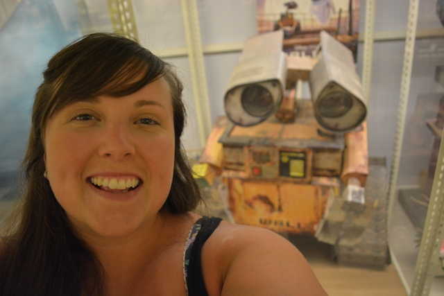 Cailin and Wall-e - Visiting the Penang Toy Museum