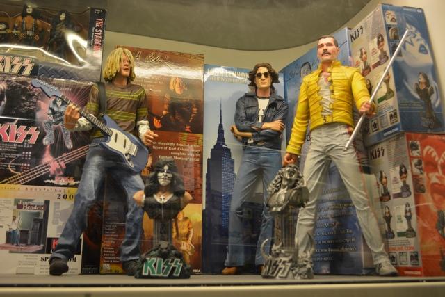 Nirvana, John Lennon, Freddie Mercury toys -Visiting the Penang Toy Museum