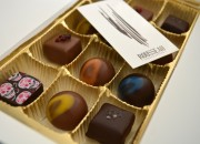 12 box of chocolates from Rousseau Chocolateir - My Big Day Downtown in Halifax