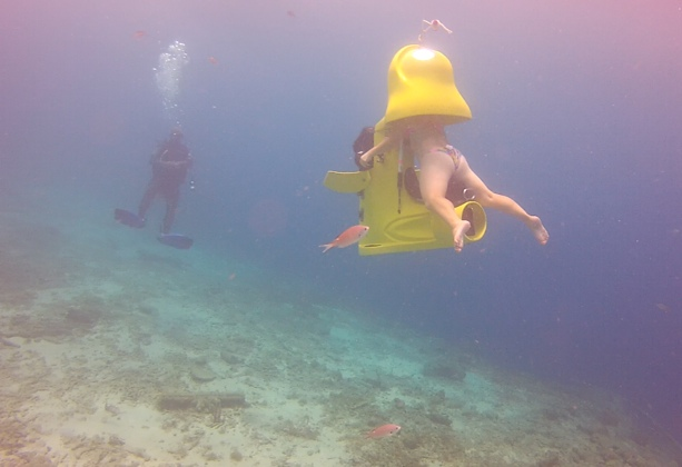 Aquafari underwater scooter - Best Things to do in Curacao