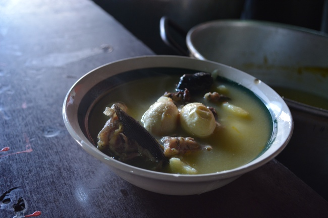 Iguana soup and Iguana eggs at Plasa Plaza Bieu in Willemstad, Curacao - Best Things to do in Curacao