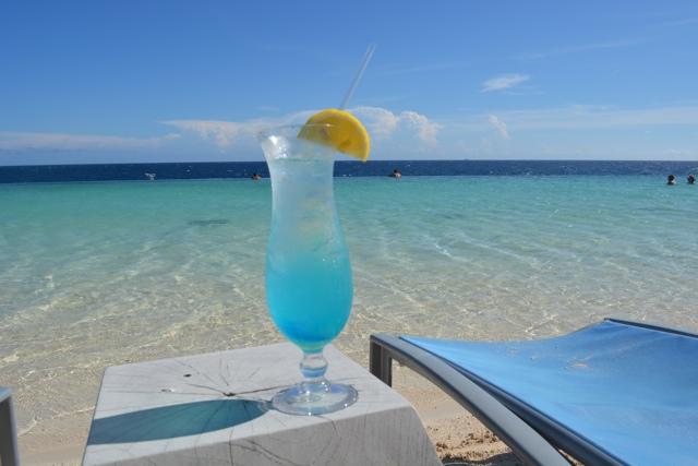 blue curacao blue lagoon beach at the Renaissance Curacao Resort beach pool - Best Things to do in Curacao