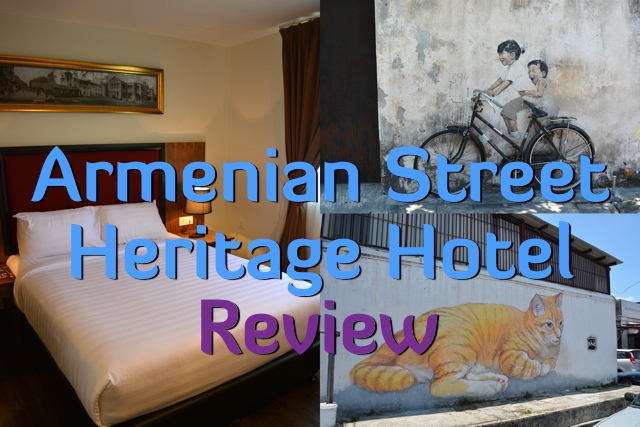 The Armenian Street Heritage Hotel in Georgetown, Penang, Malaysia