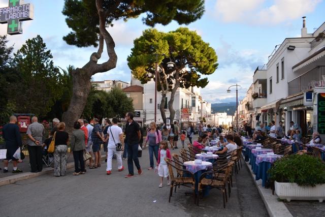 A pedestrian street in Peschici, Gargano - 5 Best Things to do in Gargano, Italy