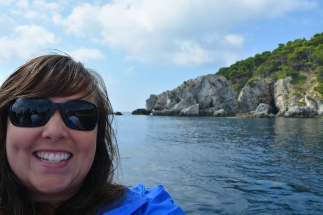 Cailin touring around the Tremiti Islands - 5 Best Things to do in Gargano, Italy