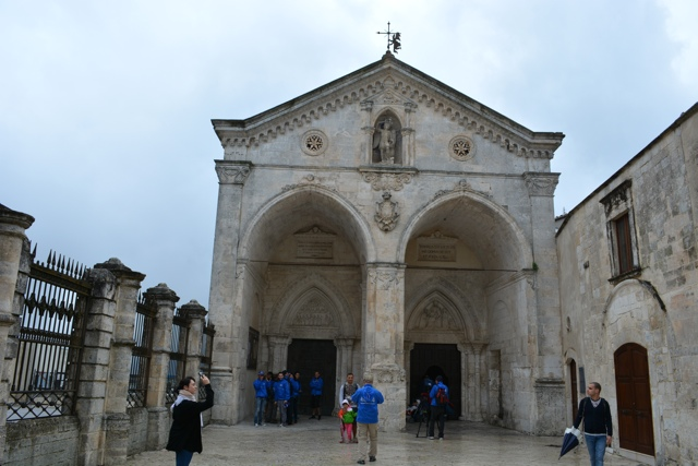 entrance to the UNESCO site Sanctuary of Monte Sant'Angelo - 5 Best Things to do in Gargano, Italy
