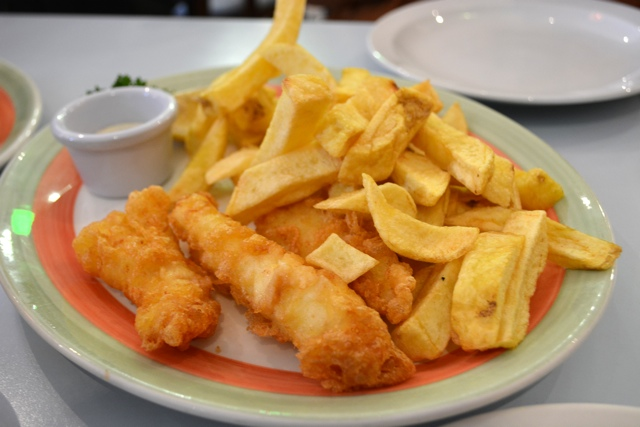 poppies fish and chips voted the best in london - eating london food tour review