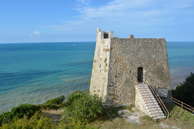 the colorful Adriatic Sea along the coast in Gargano - 5 Best Things to do in Gargano, Italy