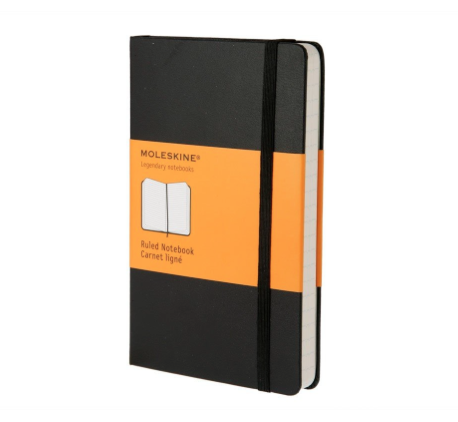 Moleskine Classic Notebook for travelers - Best Christmas Gifts for People who Love to Travel