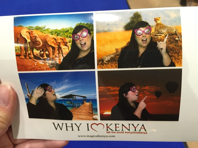 Cailin Why I love Kenya booth at WTM - Travel Yourself 2014 Year in Review