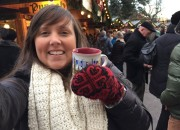 Cailin at a Christmas Market in Germany with Viking River Cruises - Best Tips for Visiting European Christmas Markets