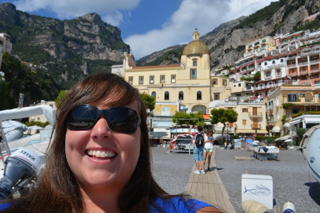 Cailin in Positano, Italy - Travel Yourself 2014 Year in Review