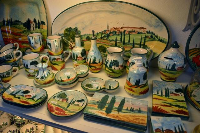 Linda Bai pottery shop Pienza, Italy - A Day Trip to Tuscany with Walks of Italy