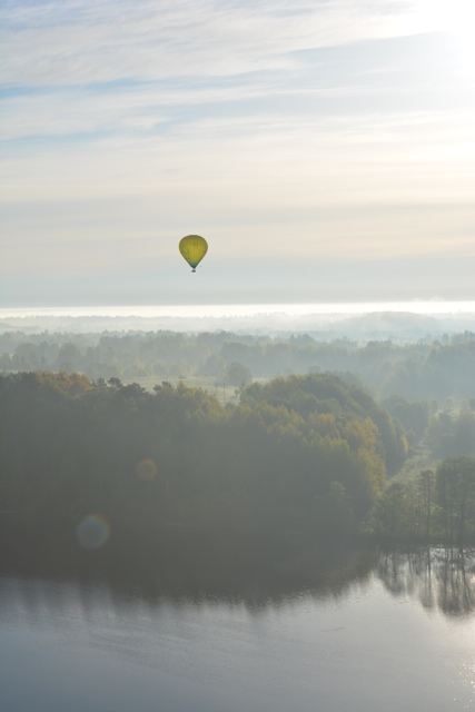 hot air ballooning in lithuania - Hot Air Ballooning For the First Time